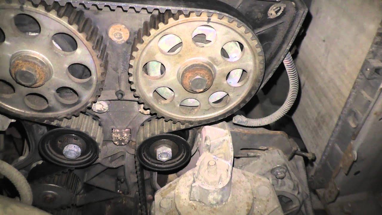 Замена ремня ГРМ и роликов на 16 клапанных ВАЗ 2110, 2111 и 2112