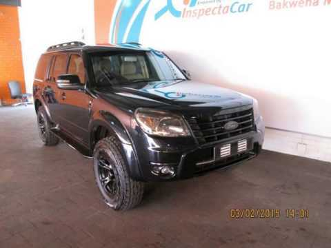 2010 FORD EVEREST 3.0 TDCi 4x4 Auto LTd Auto For Sale On Auto Trader South Africa