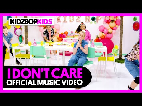 Смотреть клип Kidz Bop Kids - I Don'T Care