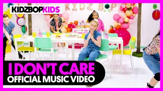Смотреть клип Kidz Bop Kids - I DonT Care