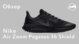 кроссовки Nike Air Zoom Pegasus 36 Shield. Обзор
