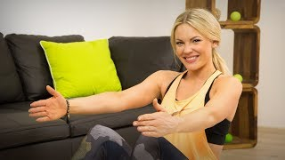 Pilates Bauch Workout für Anfänger