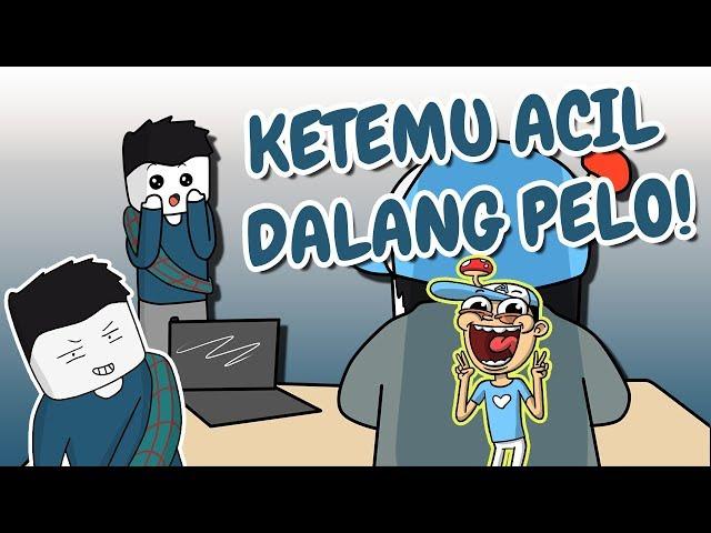 KETEMU ACIL DALANG PELO ! | Popcon Asia 2018 | Vlog Animasi