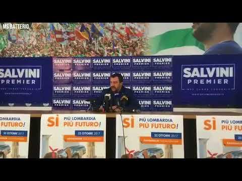 Matteo Salvini: Intervista integrale post referendum.Così riparte l'Italia