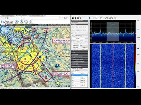 Listening to a VOR and Doppler Effect Demonstration || RTL-SDR Dongle