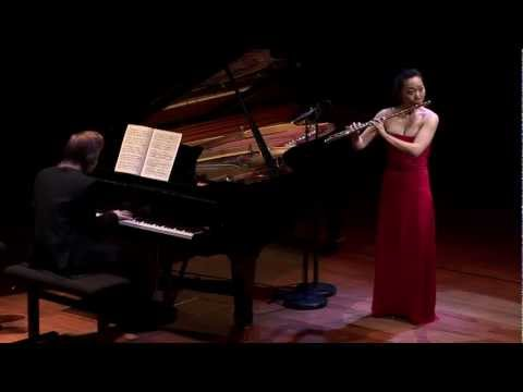 "Schubert Variations on ""Trockne Blumen"" D.802 - Sooyun Kim, flute and Juho Pohjonen, piano"