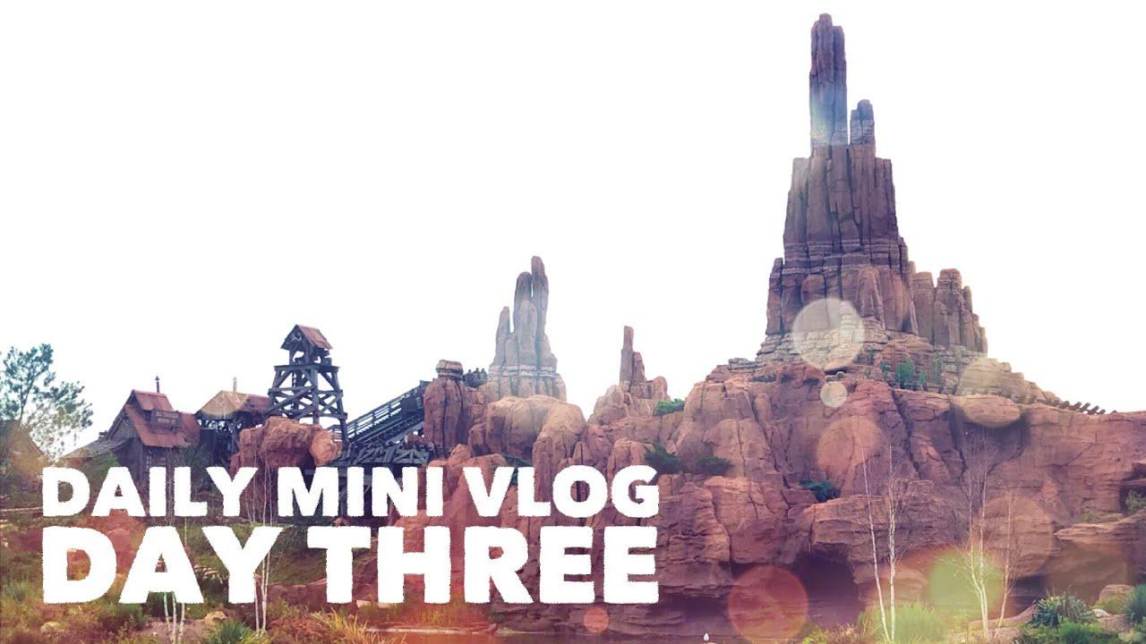 Disneyland Paris Christmas 2017 | Daily Mini Vlog Day Three - YouTube