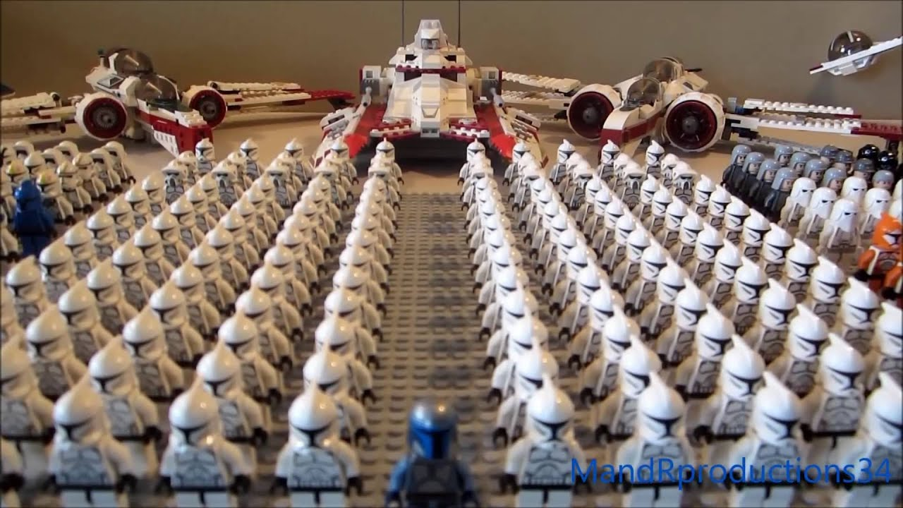 My HUGE LEGO Star Wars Clone Army! (2014 Edition!) LEGO Clone Army Video!