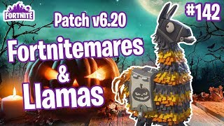 Patch Notes V6.20 | 5 Fortnitemare Llamas | Fortnite #142