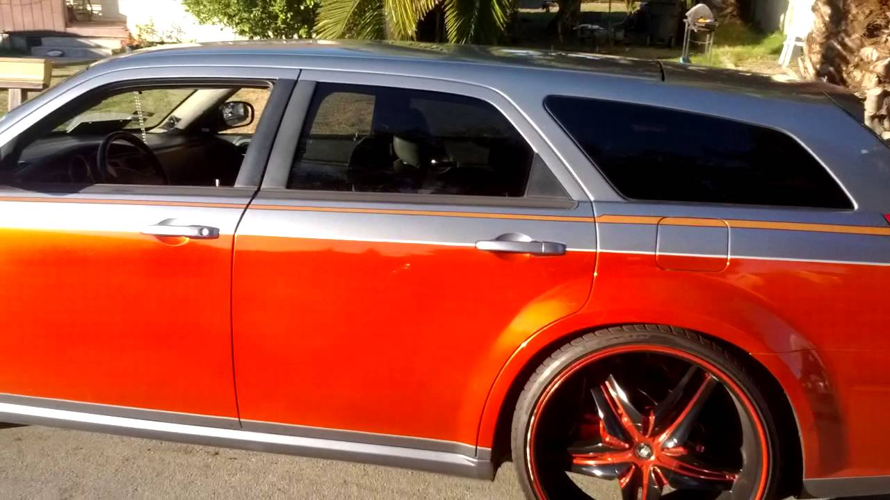 06 Dodge Magnum R T Candy Paint Youtube