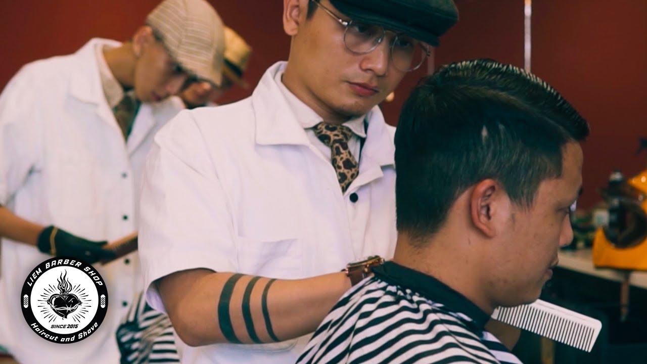 Liem Barber Shop at Tan Phu District