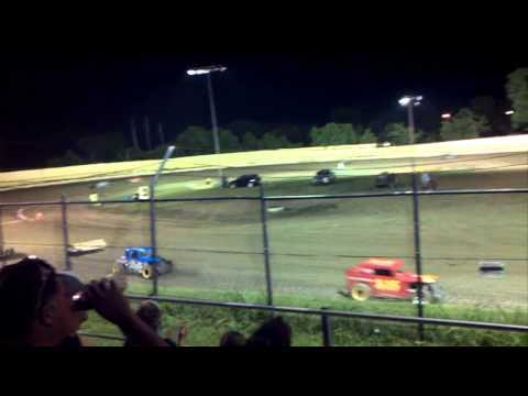 Dwarf race creek county speedway part 2 august 9