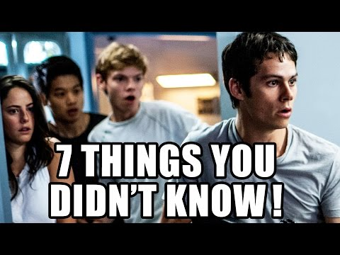 7 Things You Didn't Know About Maze Runner: The Scorch Trials