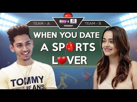 When You Date A Sports Lover | Ft. Apoorva Arora & Satvik Sankhyan | RVCJ
