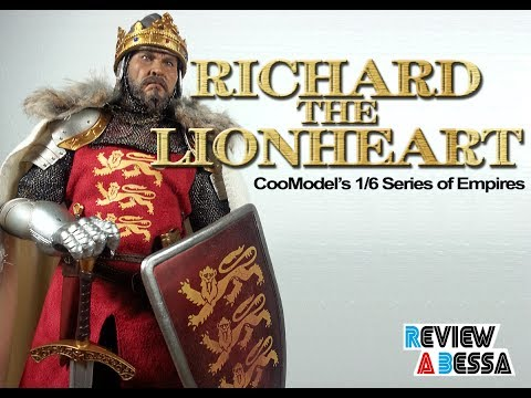 Review a Bessa #14 - Unboxing/Review Richard the Lionheart - CooModel 1/6 (PT/BR)