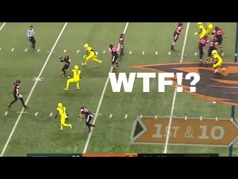 Oregon State Epic Fail on Trick Play vs Oregon