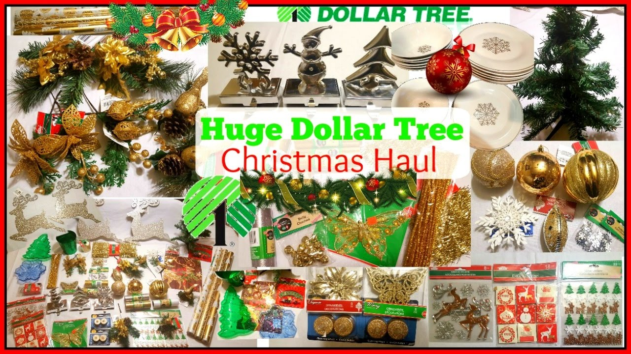 🎅DOLLAR TREE HAUL | CHRISTMAS HOME DECOR   GIVEAWAY CLOSED   YouTube