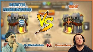 livestream clash of clans   north remembers vs whf