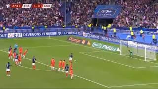 Griezmann penalty fail vs Andorra