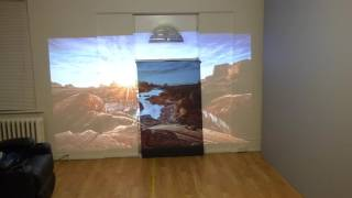 EVER WANTED A BLACK COLORED PROJECTION SCREEN? NOW YOU CAN!