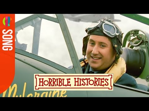 Horrible Histories song - RAF Pilot Song - CBBC
