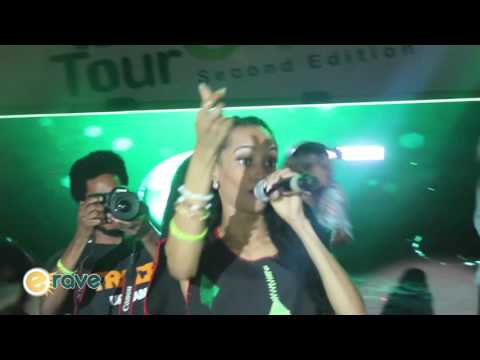 Mavin Records Acts On Stage @ Glo Slide 'N' Bounce Tour