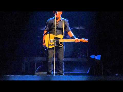 """Backstreets/Sad Eyes"" Bruce Springsteen 3 May 2013, Stockholm"