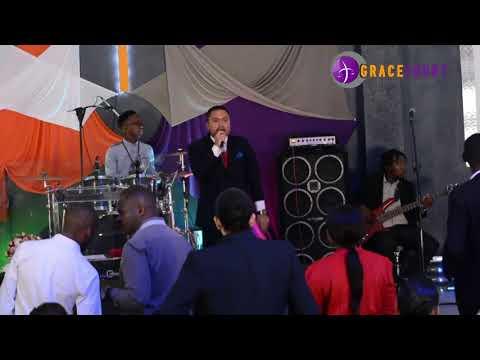 Pastor Chester Clayton Swart at GRACECOURT, Johannesburg at Restoration Conference 2018.