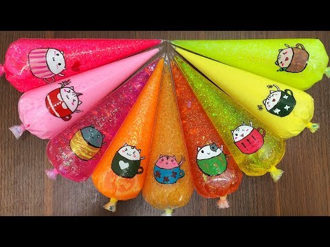 Special Series #Piping Bags || Making Slime with Piping Bags #16|| Perfect Slime Sound || Boom Slime