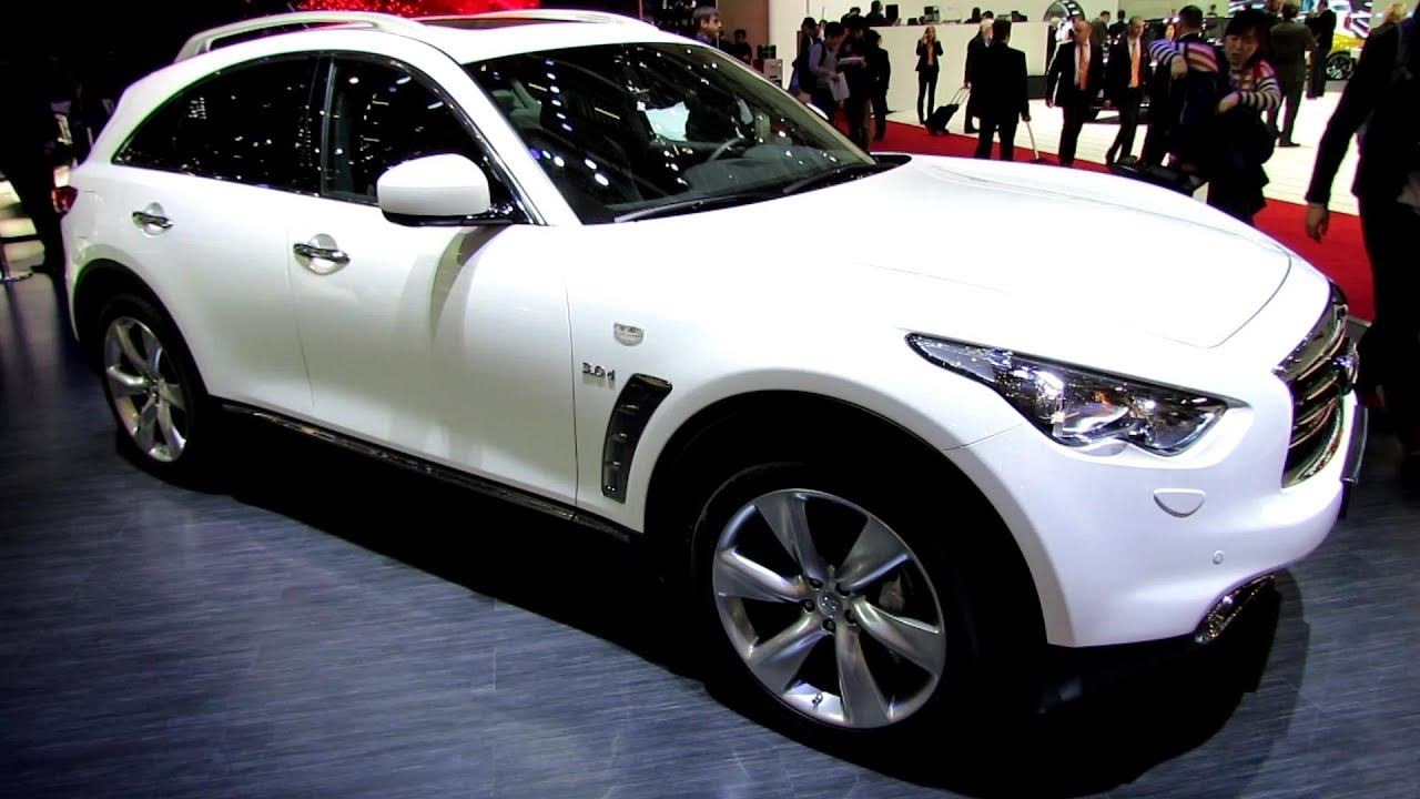 2014 infiniti qx70 s diesel exterior and interior walkaround 2014 geneva motor show. Black Bedroom Furniture Sets. Home Design Ideas