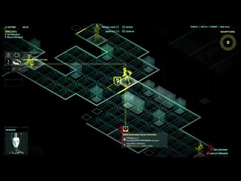 Let's play Invisible INC console EXPERT RUN #(013) cont. Part 4