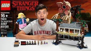 The Upside Down!!! Lego Stranger Things - Set 75810 Time-lapse Build & Review!