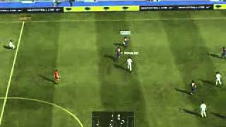 pes 2012 pc  gameplay - Barcelona  x Real Madrid