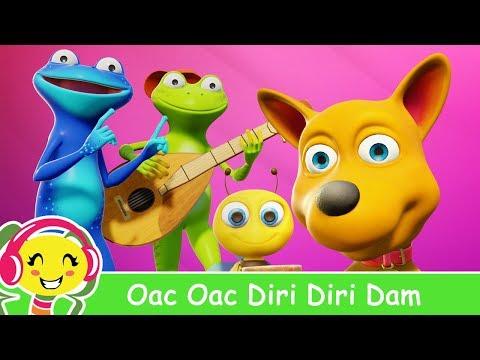 Oac, oac, diri-diri-dam – Cantec + karaoke
