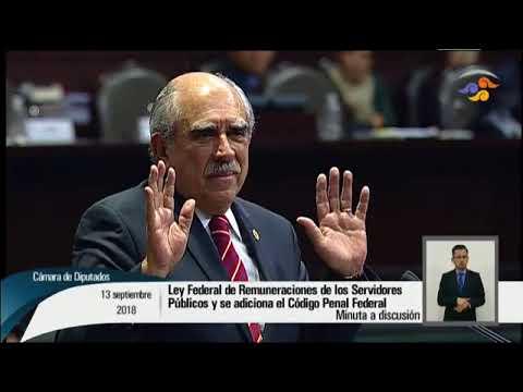 13/09/2018 Intervención en tribuna del Dip. Pablo Gómez