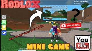 Mini games [Roblox] ironmanmark85pro