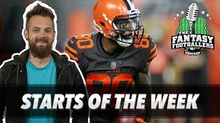 Fantasy Football 2018 - Starts of the Week, Wk 7 Matchups, Who Am I? - Ep. #631