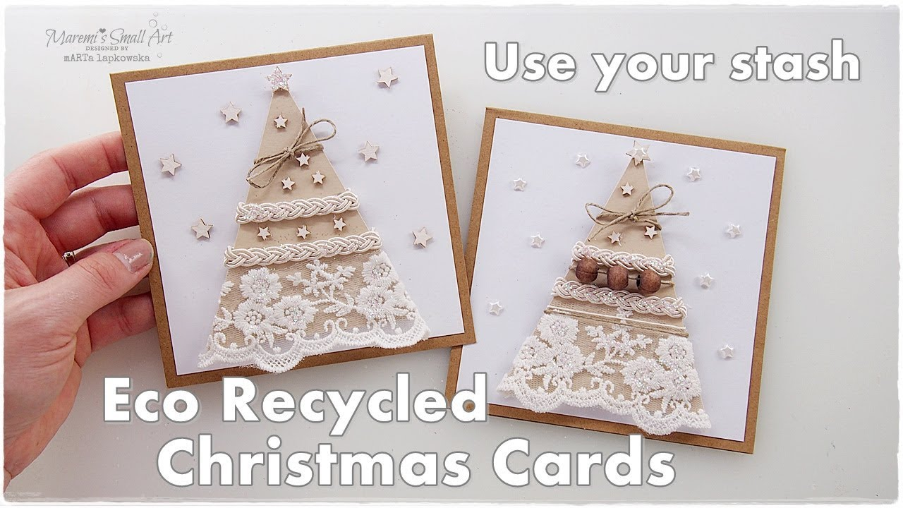 Recycled ♡ Eco Stunning Christmas Cards ♡ Maremi\'s Small Art ...