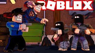 JAILBREAK MED SUPERHELTE?! - Roblox Mad City med ComKean