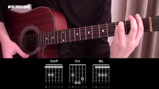 Sunshine - Cat Dealers - Guitar Lesson Tab - How To Play