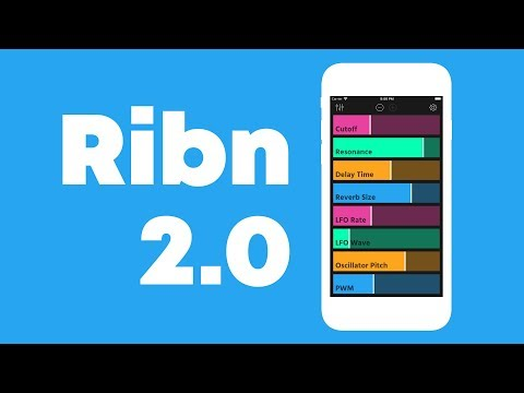 Ribn 2.0 is here! iOS MIDI controller app
