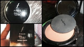 Faces go chic pressed powder review affordable compact powder