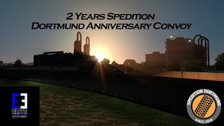2 Years Spedition Dortmund Anniversary Convoy  | Official Video | Elite ENTERTAINMENT Production