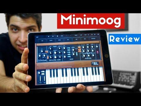 Moog lança app Minimoog Model D para iPhone e iPad! Review