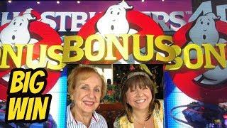 BIG WIN! GHOSTBUSTERS 4D BONUS WITH MOM