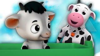bebé cabra bebé cabra | canciones infantiles | Niños rimas | Baby Goat Yes Papa | Farmees Español