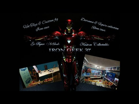 2020 collection room / man cave tour Hot Toys and custom figures.