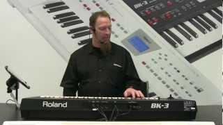 Roland BK-3 NAMM 2013 Booth Demo