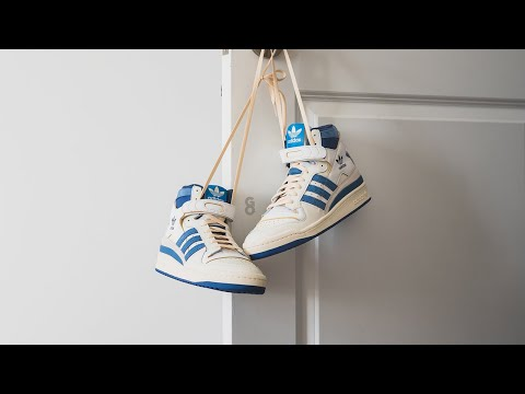 "Adidas Forum 84 High OG ""White / Blue"": Review & On-Feet"
