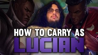 Imaqtpie - HOW TO CARRY AS LUCIAN